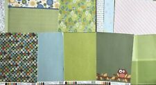 MIXED LOTS OF RECOLLECTIONS & OTHER BRANDS SCRAPBOOK PAPER NEW, UNUSED