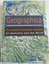 GEOGRAPHICA Complete Illustrated Reference to Australia & the World HC +CD