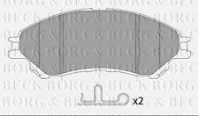 FRONT BRAKE PADS SET BORG & BECK FOR SUZUKI VITARA CLOSED OFF-ROAD 1.6 88KW