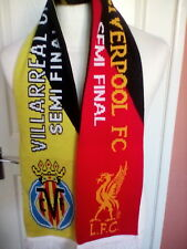 Liverpool v Villarreal CF, Europa League Semi-Final 2016. Full Sized Scarf