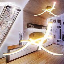 LED Design Deckenleuchte Wohn Zimmer Lampen Flur Strahler Chrom Küchen Leuchten
