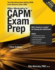 CAPM Exam Prep: Accelerated Learning to Pass PMI's CAPM Exam Mulcahy, Rita