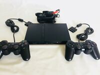 Sony PS2 Slim Video Game Bundle - PlayStation 2 - Fully Refurbished - Read