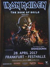 IRON MAIDEN Tour 2017 Frankfurt 84cm Konzert Plakat Concert Callejon Poster