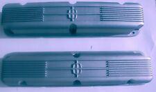 1958-1968 1/2 Reproduction Lincoln Cast Aluminum Star Valve Covers B9LE-6582-MOD