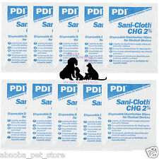 10 Sterile Sani-Cloth Disinfection Wipes Whelping Kit Equipment Puppy Dog Kitten