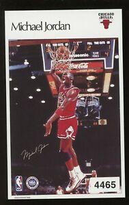 1986-87 Marketcom Sports Illustrated Michael Jordan Authentic Test Sticker Mint