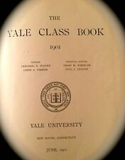 1901 YALE CLASS BOOK yearbook VERY FINE SHAPE!
