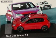 RARE VW GOLF GTI EDITION 30 MARK V 5 1K TORNADO RED 1:43 NOREV (DEALER MODEL)