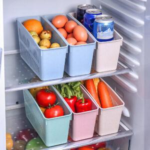 Drink Bottle Holder Vegetable Storage Box Drainage Frige Kitchen Organizer