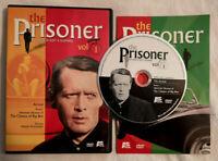 The Prisoner 1967 Vol 1 Arrival (DVD OOP R1 A&E 2001) Patrick McGoohan