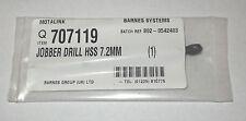 Barnes 7.2 mm HSS Jobber Lunghezza HSS TRAPANO