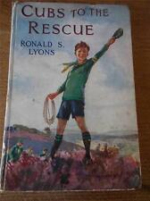 More details for vtg antique childrens boys book cubs to the rescue scouts scouting 1st ed 1927
