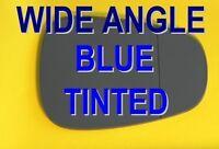 ALFA ROMEO MITO 2008+ DOOR WING MIRROR GLASS WIDE ANGLE  BLUE RIGHT OR LEFT