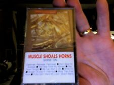 Muscle Shoals Horns- Shine On- rare new/sealed cassette tape