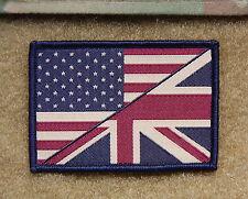 Subdued US/UK Stars & Stripes/Union Flag Patch UKSF SBS SAS SEAL CAG Afghanistan