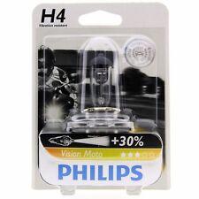 H4 Philips Vision Moto bis zu 30% mehr Licht Motorradlampe 12342PR Blister 1 St.
