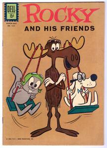 ROCKY AND HIS FRIENDS in FN/VF condition DELL FC # 1311 a 1962 Silver Age comic