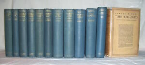 Marcel Proust   REMEMBRANCE OF THINGS PAST   1st/dj   British First edition