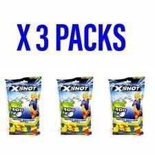 X 3 Packs Of 200 Zuru XShot Water Balloon Refills