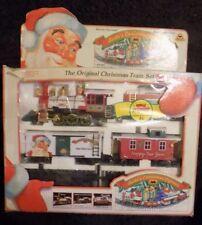VINTAGE  CHRISTMAS SANTA'S EXPRESS PLASTIC TRAIN SET!!
