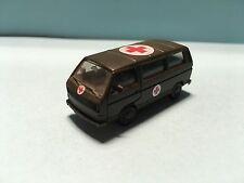 Herpa Volkswagen Transporter Ambulance Military Grey 1/87 Scale Rare/Selten