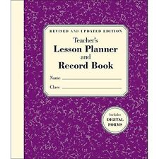 Teacher's Lesson Planner and Record Book, Good Condition Book, Stephanie Embrey,