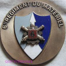 MED10264 - MEDAILLE 6° RGT DU MATERIEL décernée à un GENERAL