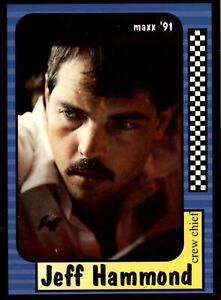 1991 Maxx NASCAR #29 of 240 Jeff Hammond - Crew Chief