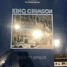 "KING CRIMSON ""LIVE AT THE ORPHEUM"" 200G LP VINYL NEW AND SEALED"