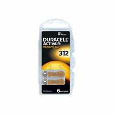 Duracell Activair 312 Batteria per Apparecchi Acustici - 6 Pezzi