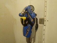 Tyco RC Stunt Motorcycle, Cafe Racer, Blue, Bike Only, No Controller, Untested