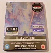 BLADE RUNNER 2049 - 4K UHD, 3D, 2D BLU RAY STEELBOOK MONDO ART, UK HMV EXCLUSIVE