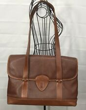 Hartmann belting leather business briefcase Attaché Shoulder Straps