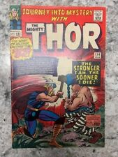 Journey Into Mystery 114, 1965, Thor, 1st ABSORBING MAN mid-high grade Unpressed