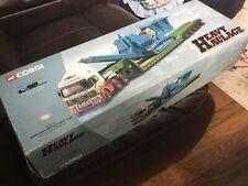 Limited Edition CORGI Heavy Haulage C12002 MAN King Trailer & Crusher Load