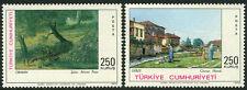 Turkey 1909-1910, MI 2255-2256, MNH. Paintings by S.Ahmet, O.Hamdi, 1972
