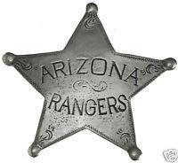 ARIZONA RANGERS 5 PT STAR OLD WILD WEST WESTERN  BADGE OBSOLETE 1 Made in USA