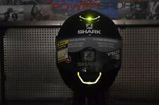 LARGE Shark Skwal LED Light Up Street Full Face Motorcycle Helmet Matte Black