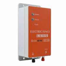 10km 12v Electric Fence Controller Energizer Charger For Animal Farm Poultry