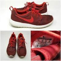 Nike Roshe One Run Premium UNI RED Athletic Running Shoes Sneakers Mens Size 11