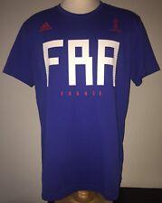 Adidas FRANCE FFF World Cup Russia 2018 Mens Football Team Fan T-Shirt XL