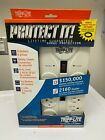 TRIP-LITE SURGE PROTECTOR 8 OUTLETS LIFETIME GUARANTEED NEW ISOBAR