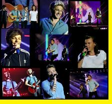 ONE DIRECTION 1D ROAD AGAIN 2015 CONCERT 1800 PHOTOS CD LIVE TOUR SET  1+2+3