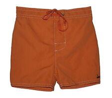 Marie Chantal Baby Boys Orange Swim Shorts Age 6mths NWOT