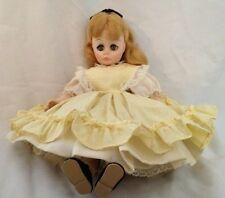 "Madame Alexander 12"" Louisia May Alocott 's Little Women Doll in Yellow Dress"