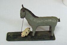 Antique Composition Horse & Sheep Toy