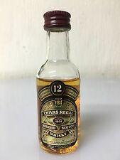 Mignon Miniature Chivas Regal 12yo Scotch Whisky 5cl 43% Vintage