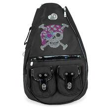 Tennis Designer Sling Backpack Rucksack Captain Jack Skull by  Whak Sak
