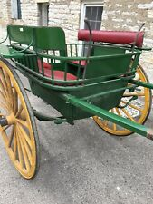 Antique Horse Drawn Carriage Governesses Buggy Trap Birmingham England